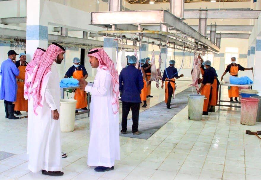 بلدية محافظة الدلم تفتح المسلخ النموذجي الجديد والذي تبلغ مساحته 200الف متر مربع