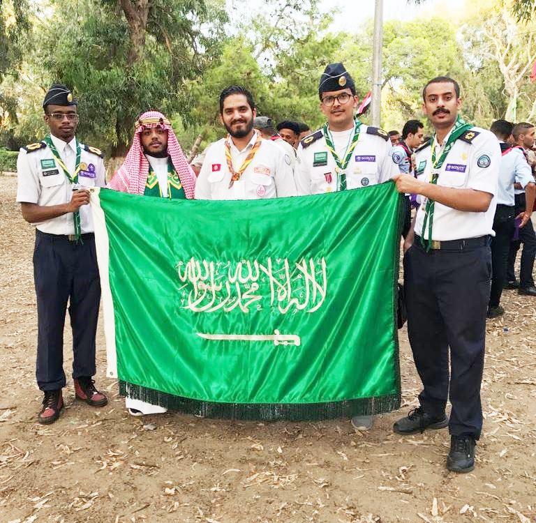 جوالة المملكة تبدأ مشاركتها بالملتقى المغاربي في تونس