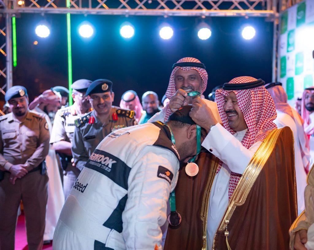 الراجح يتوج الفائزين في سباق تحدي الباحة لصعود المرتفعات 2018