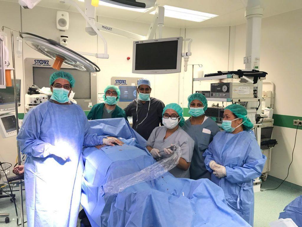 نجاح أول عملية تكميم معدة بمستشفى الأمير مشاري ببلجرشي
