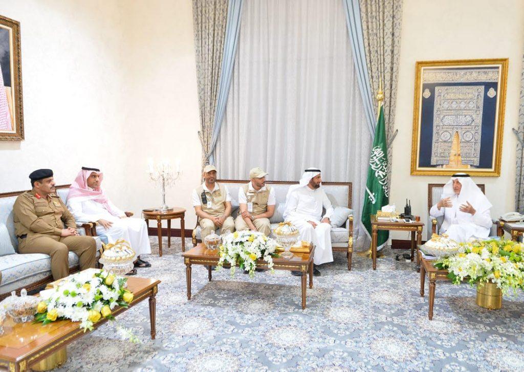 الأمير خالد الفيصل يلتقي بوزير الصحة