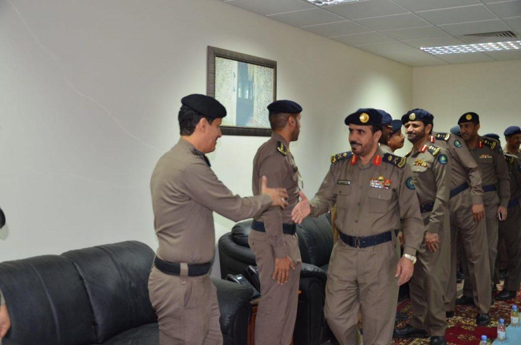 مديرية الدفاع المدني بتبوك تقيم حفل معايدة صحيفة المناطق