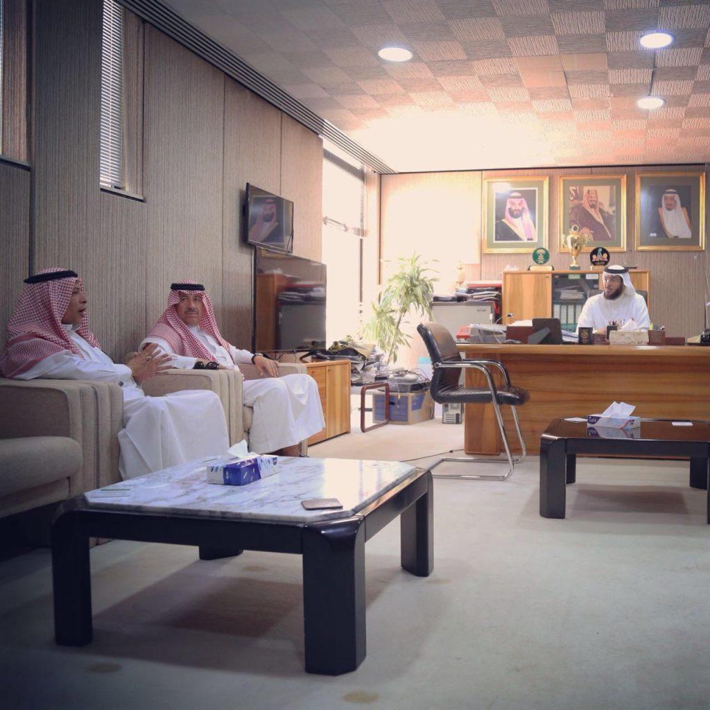 مدير مكتب هيئة الرياضة بتبوك يلتقي أعضاء نادي تبوك للاحتياجات الخاصة