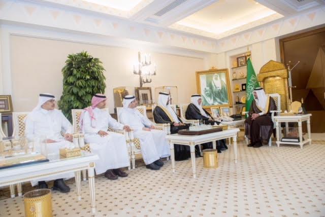 الأمير فيصل بن مشعل يستقبل فريق التحول الوطني بوزارة الصحة
