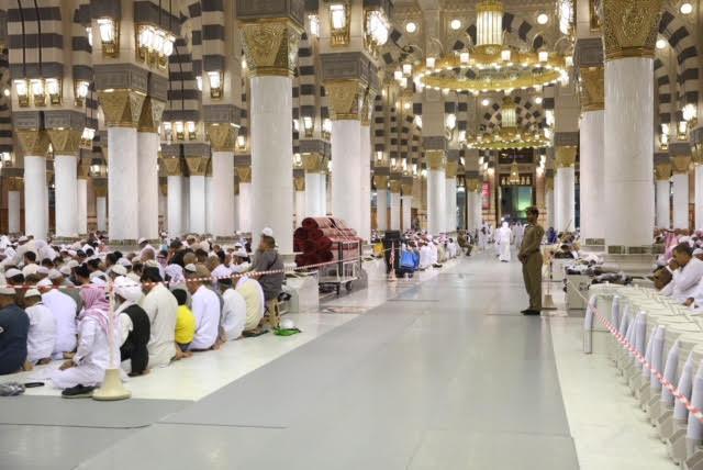إدارة الساحات في المسجد النبوي جهود يومية للتسهيل على الحجاج أدائهم لعباداتهم