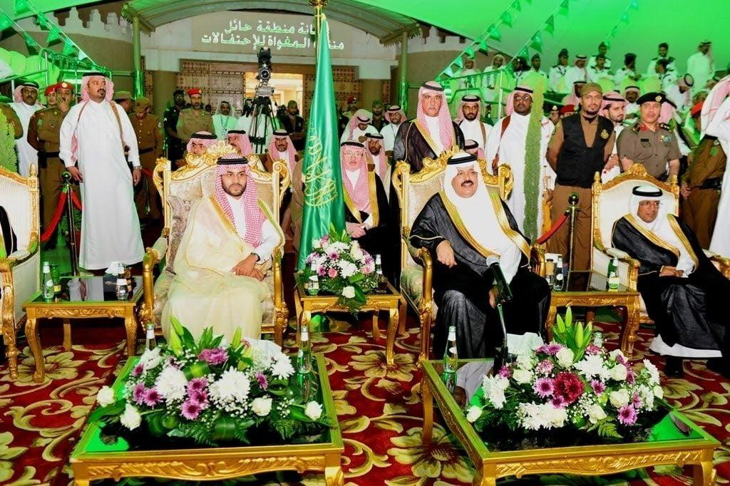 أمير حائل يرعى احتفالات أهالي المنطقة باليوم الوطني ٨٨
