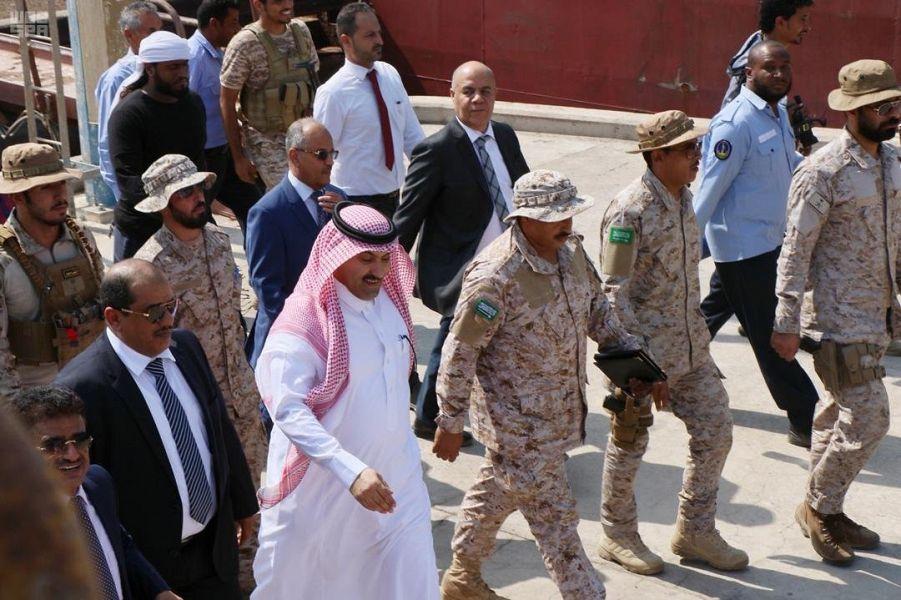 وصول منحة المشتقات النفطية السعودية إلى اليمن