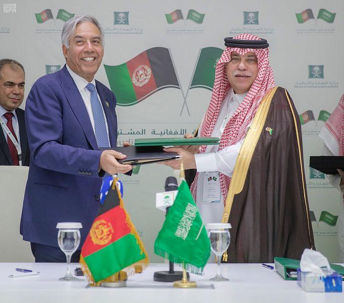 الدورة الأولى لاجتماعات اللجنة السعودية الأفغانية تعقد أعمالها في الرياض