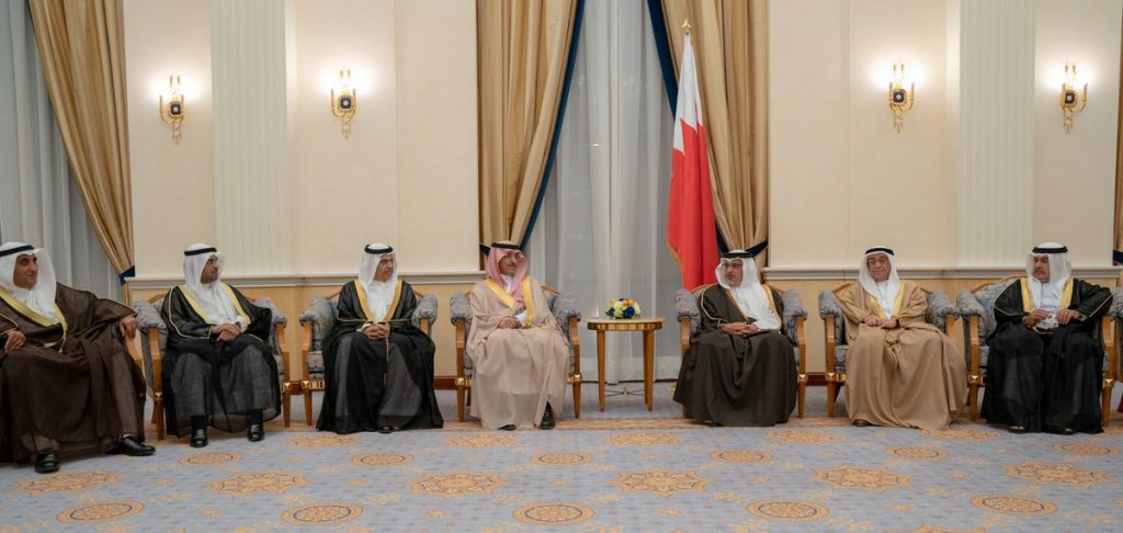 ولي العهد البحريني : نثمن مواقف المملكة والإمارات والكويت الداعمة للبحرين
