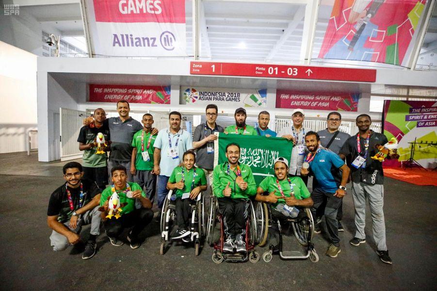 أبطال البارالمبية السعودية يرفعون رصيدهم إلى 6 ميداليات بدورة الألعاب الآسيوية البارالمبية جاكرتا 2018