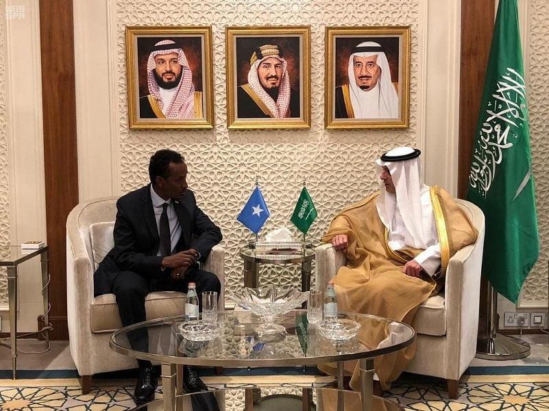 وزير الخارجية يستقبل وزير الشؤون الخارجية الصومالي