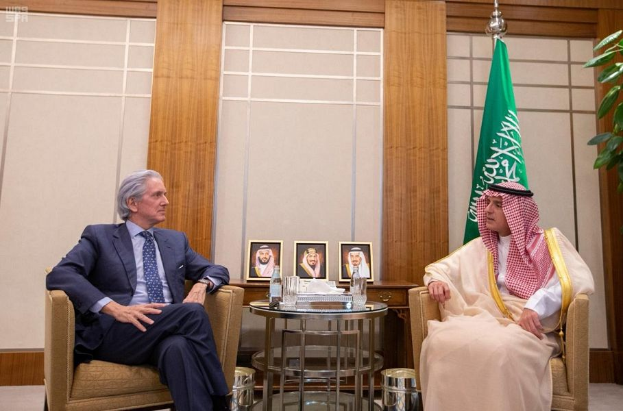 وزير الخارجية يستقبل سفير جمهورية فرنسا لدى المملكة