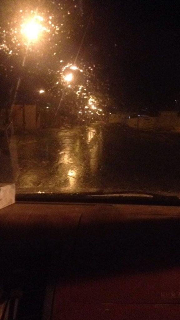 أمطار غزيرة على مملكة البحرين