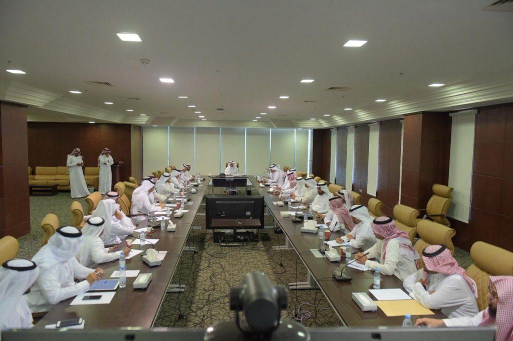 مجلس جامعة الباحة يعقد اجتماعه الأول للعام الجامعي 1439/ 1440هـ