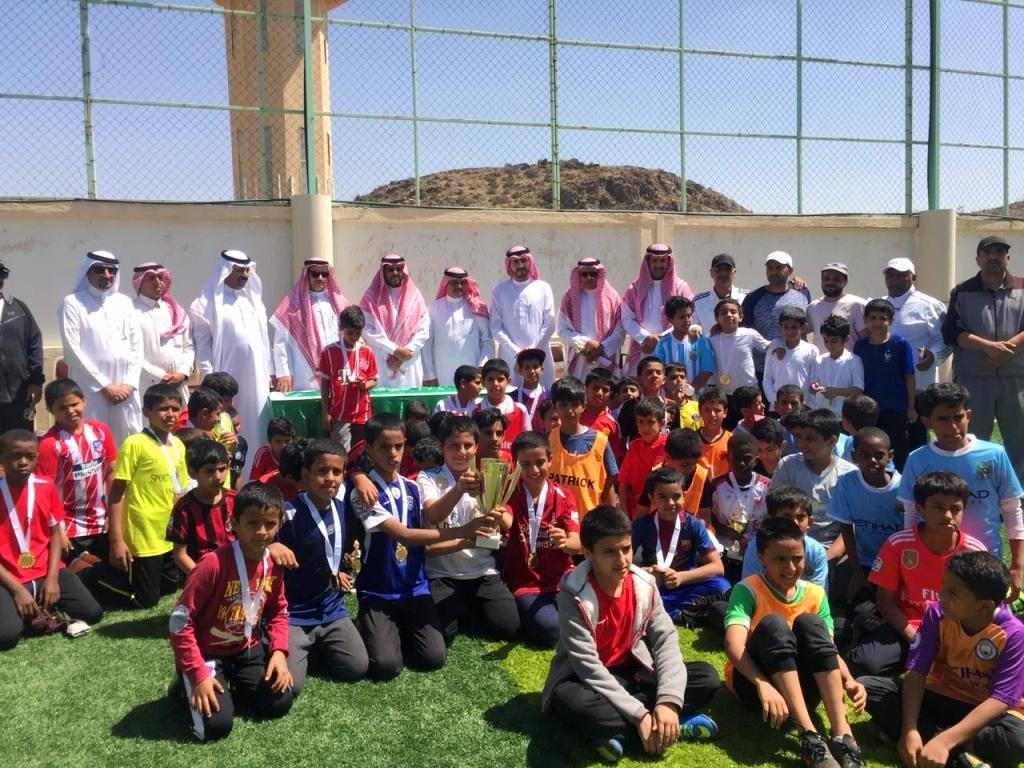 إختتام مهرجان كرة القدم للمرحلة الإبتدائية
