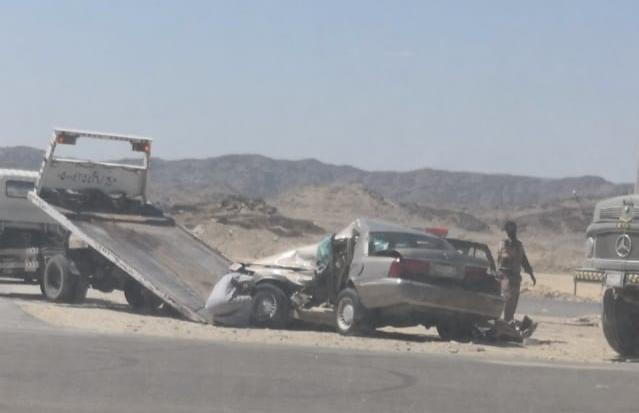 مصرع وإصابة شخصين في حادث مروري بالباحة