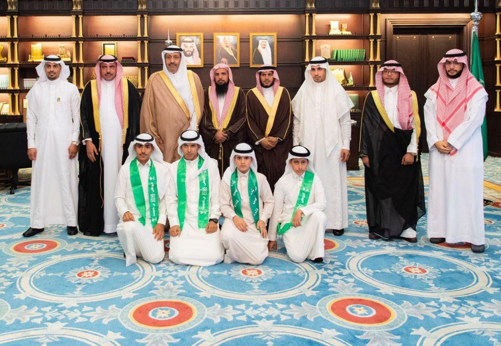 أمير الباحة يستقبل مدراء وطلاب المعاهد العلمية بالمنطقة