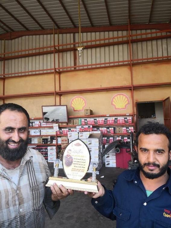 أمانة عامل يمني تعيد 40 ألف ريال لمواطن في حائل