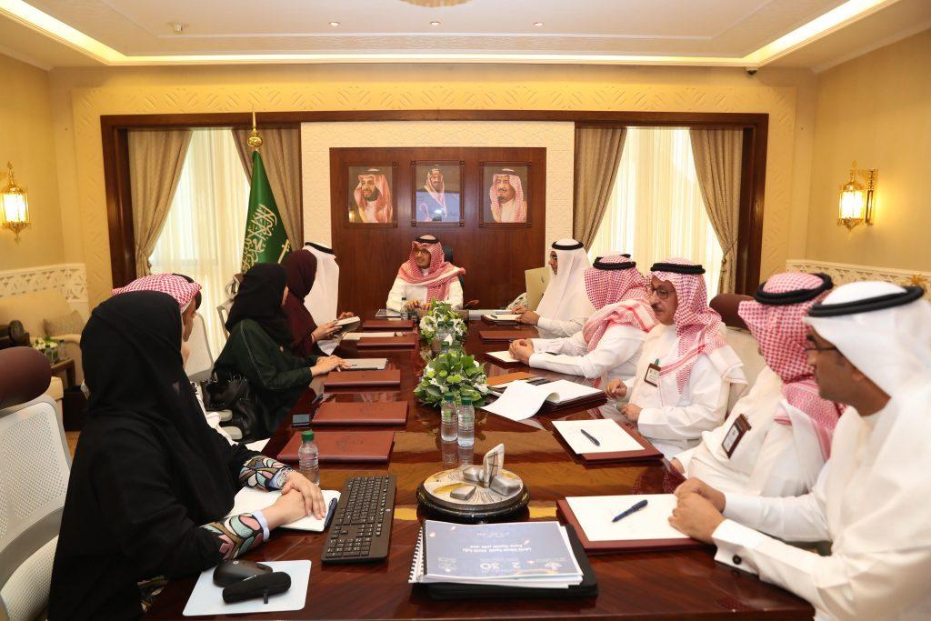 الأمير أحمد بن فهد بن سلمان يستقبل رئيس برنامج جودة الحياة