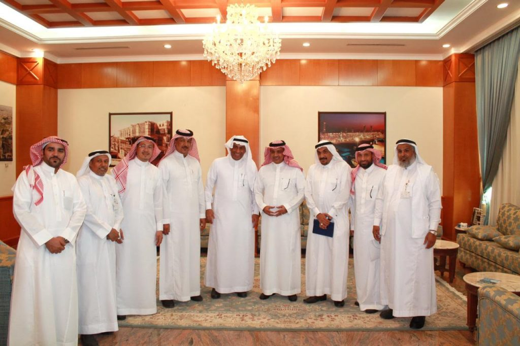 محافظ ينبع التقى مدير عام فرع وزارة البيئة والمياه والزراعة بمنطقة المدينة المنورة