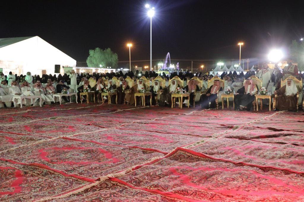 مهرجان تيماء التراثي يختتم فعالياته بجانب السور الأثري