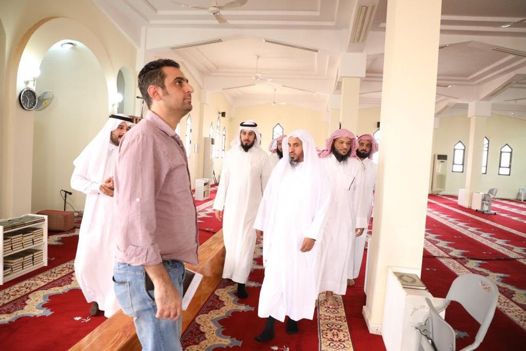 مدير فرع الشؤون الإسلامية بالمنطقة يتفقد مساجد محافظة العويقيلة وقراها