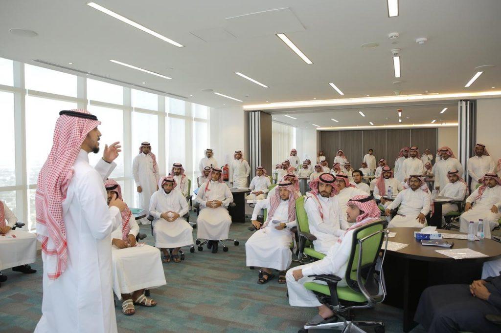 """فرع صندوق تنمية الموارد البشرية بالرياض يستضيف لقاء وظيفيا للباحثين عن عمل بالتعاون مع """"الشركة السعودية للتحكم التقني والأمني"""""""