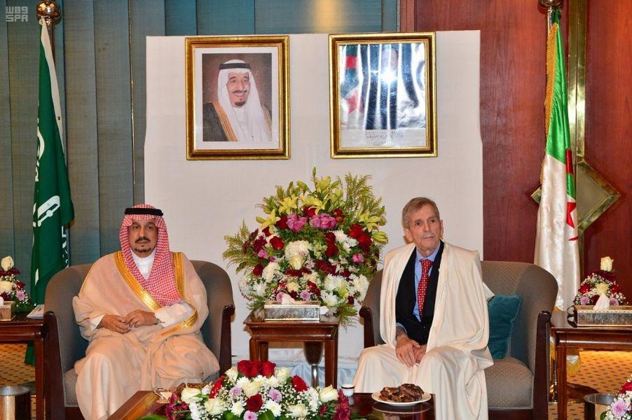 أمير منطقة الرياض يشرف حفل سفارة جمهورية الجزائر