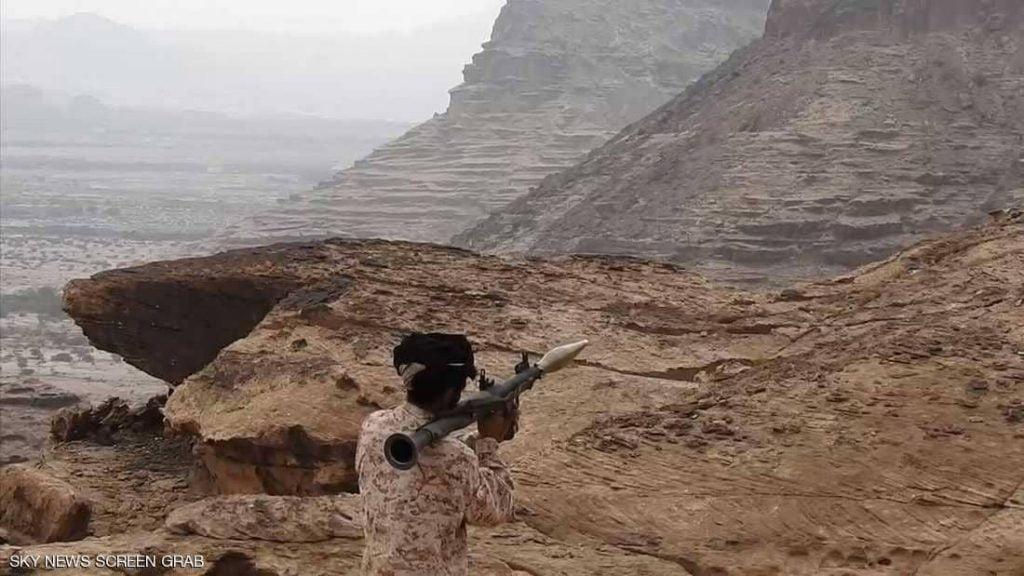 """الجيش اليمني يتقدم إلى جبال مران """"مخبأ الحوثي"""""""