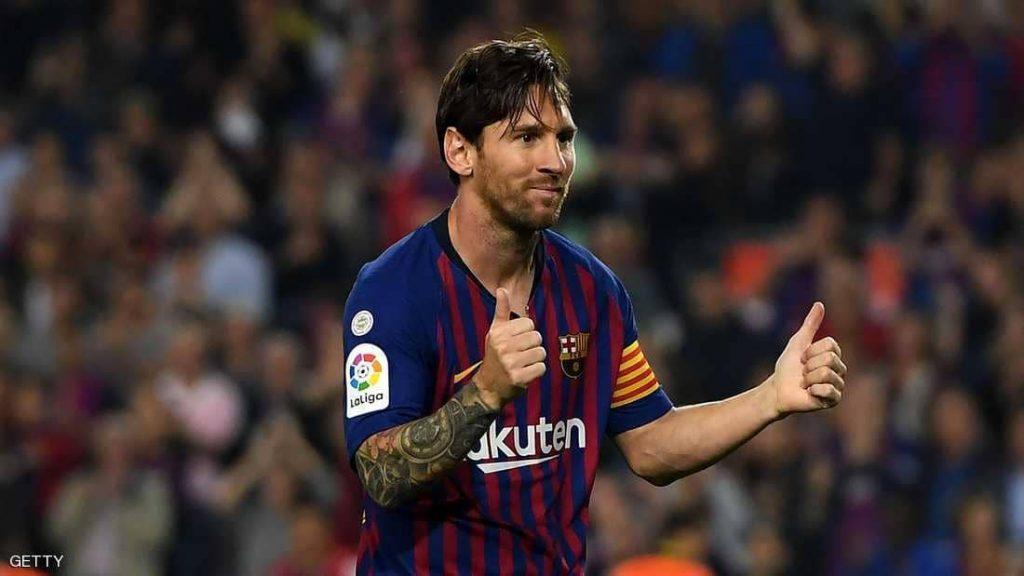 """برشلونة يعلن """"عودة ميسي"""" قبل الأوان"""