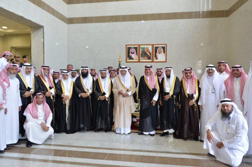 أمير منطقة مكة يفتتح المبنى الجديد لفرع ديوان المراقبة بالمنطقة