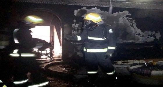 اندلاع حريق في منزل بنجران بسبب التماس كهربائي