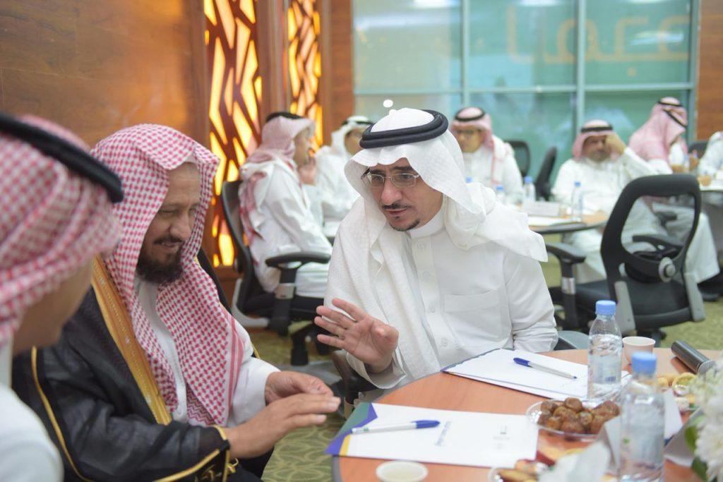 """معالي مدير جامعة الباحة يفتتح ورشة عمل """"بناء التوجهات الاستراتيجية لأوقاف الجامعة"""""""