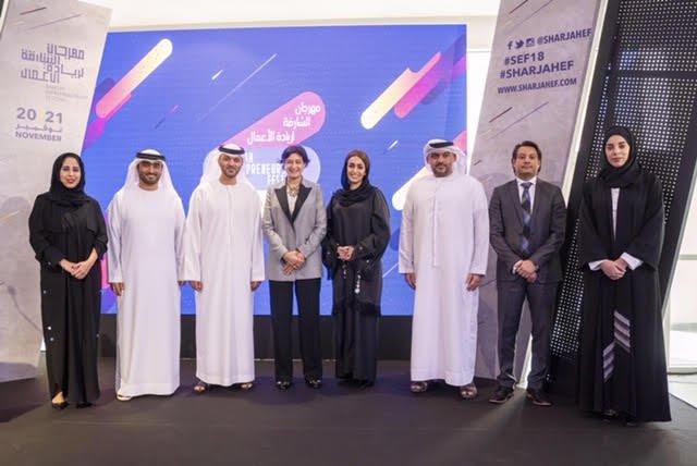 100 متحدثٍ يشاركون في الدورة الثانية لأكبر مهرجان لريادة الأعمال في الشارقة