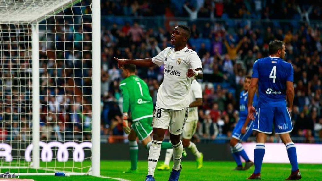ريال مدريد يمطر شباك مليلية بنصف دستة أهداف