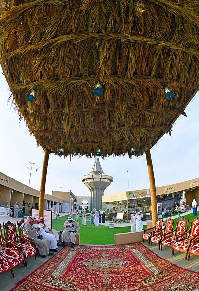 """""""قصر مشرف"""" شاهد على اللحمة الوطنية على أرض مهرجان الجنادرية"""