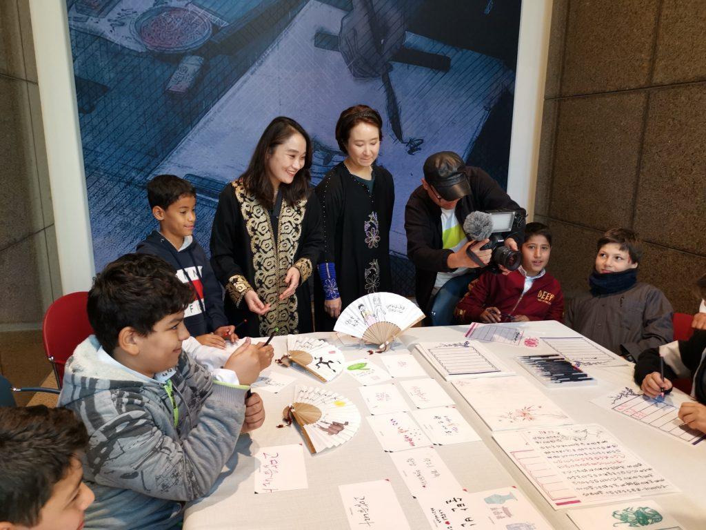 برامج تعليمية كورية للطلاب السعوديين في المتحف الوطني بالرياض