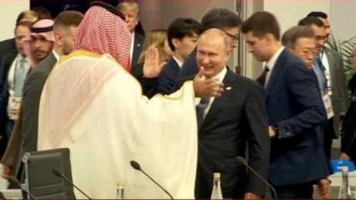 شاهد.. ولي العهد يوجه صفعة قوية غير متوقعة لقناة الجزيرة على الهواء في قمة العشرين