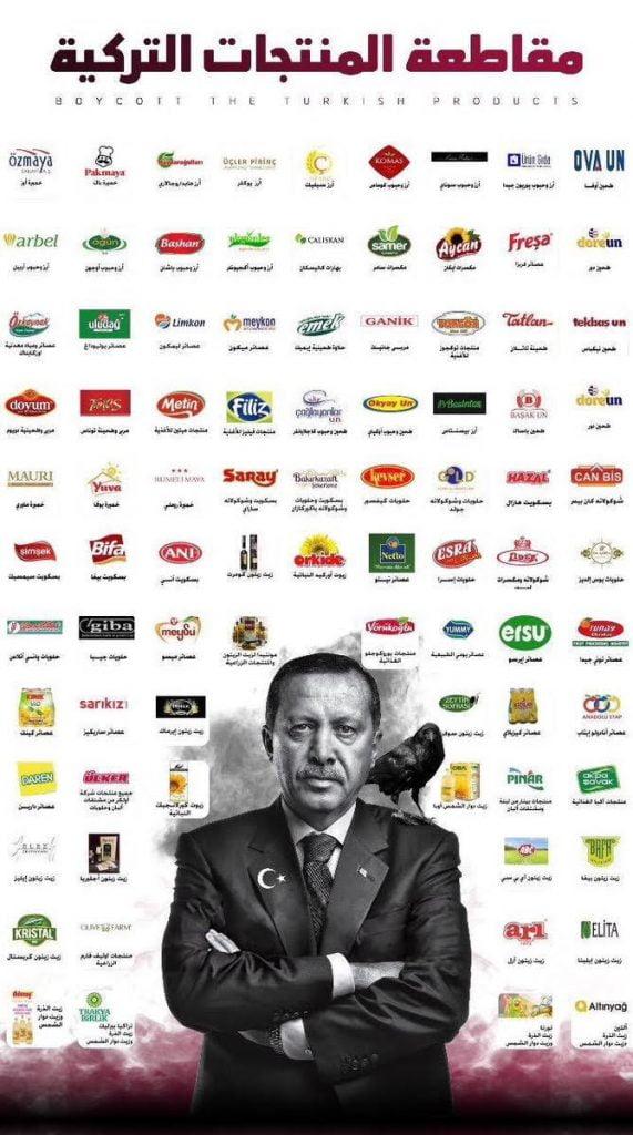 دعوات واسعة لمقاطعة المنتجات التركية في المملكة صحيفة المناطق السعوديةصحيفة المناطق السعودية