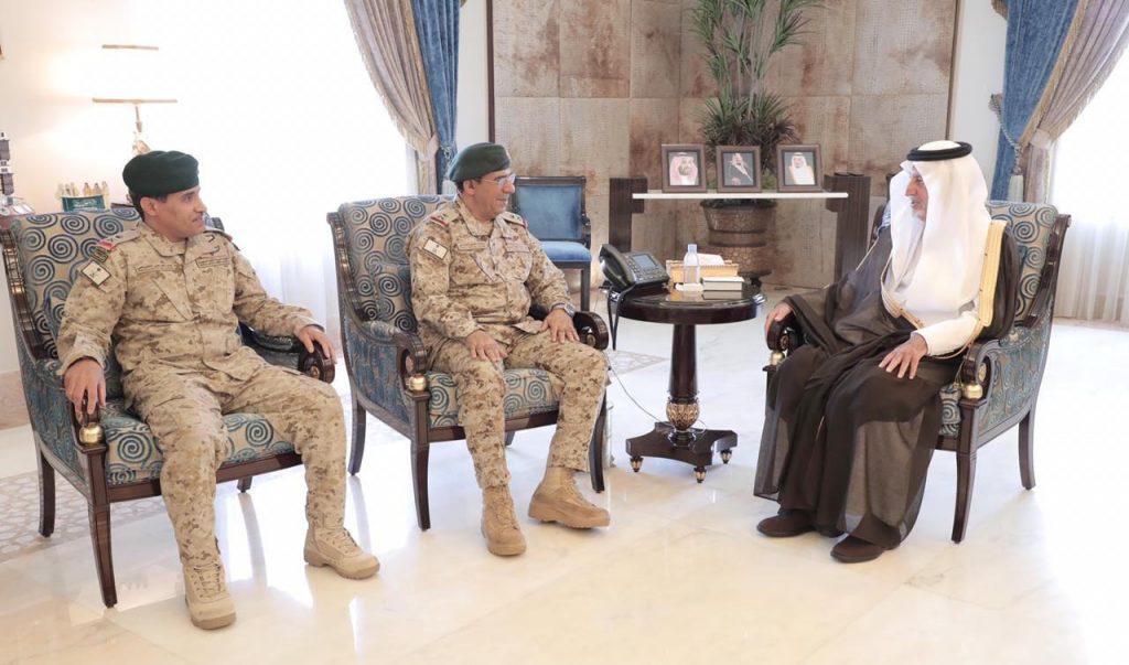 أمير مكة يستقبل سفير السودان وقائد المنطقة الغربية