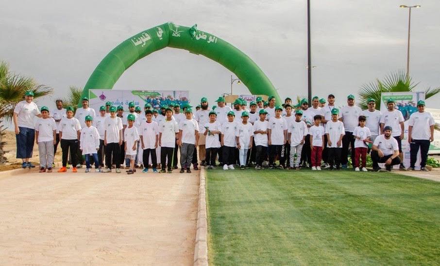 نادي الخالدي بالوجه ينظم فعالية بمناسبة اليوم العالمي للمشي