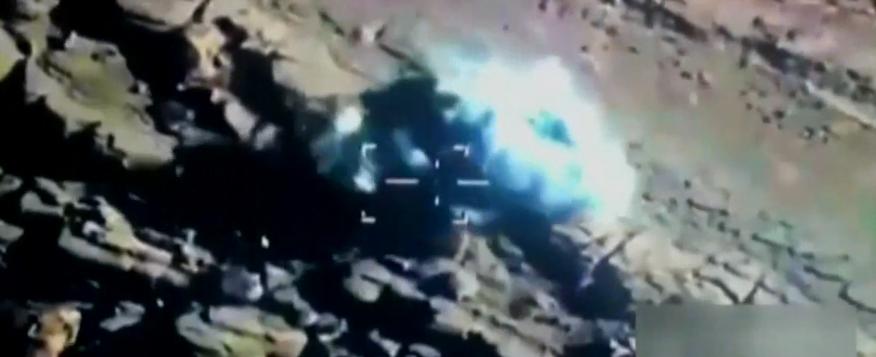 فيديو .. إحدى عمليات طيران التحالف باليمن