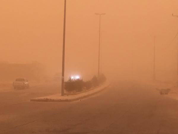تعليق الدراسة في مدراس عرعر وفرع جامعة الحدود الشمالية بطريف اليوم الخميس نظراً للتقلبات الجوية