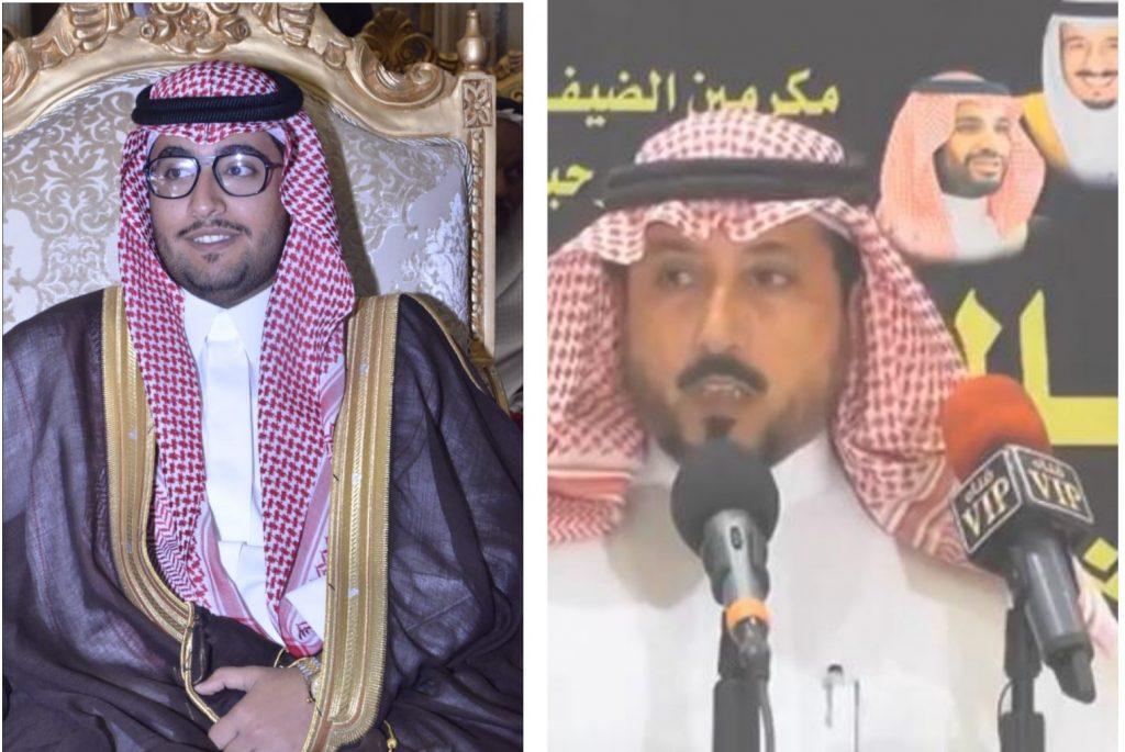 """الشاعر """"ضاوي"""" يحتفل بزواج أبنه """"زياد"""""""