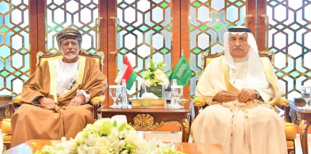 وزير الخارجية يلتقي وزير الشؤون الخارجية لسلطنة عمان