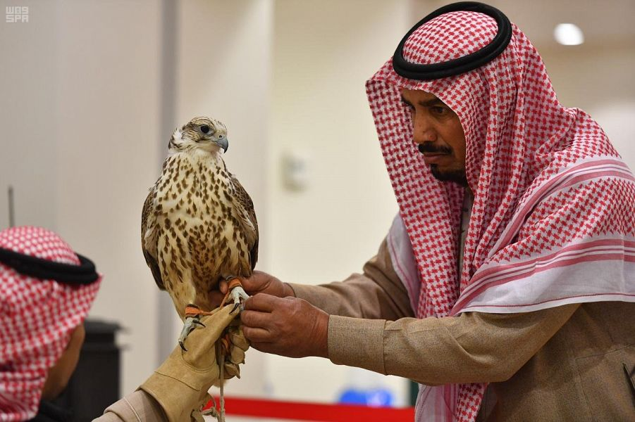 اللجنة المنظمة لمهرجان الملك عبدالعزيز للصقور تدعو الصقارين المشاركين لإجراء فحوصات طبية على صقورهم بدءً من غد