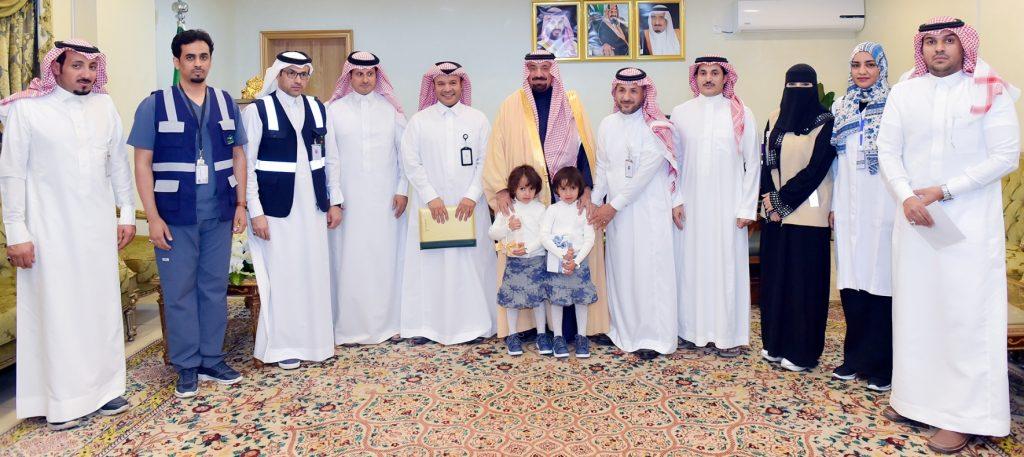 أمير نجران يدشن حملة التطعيم ضد شلل الأطفال