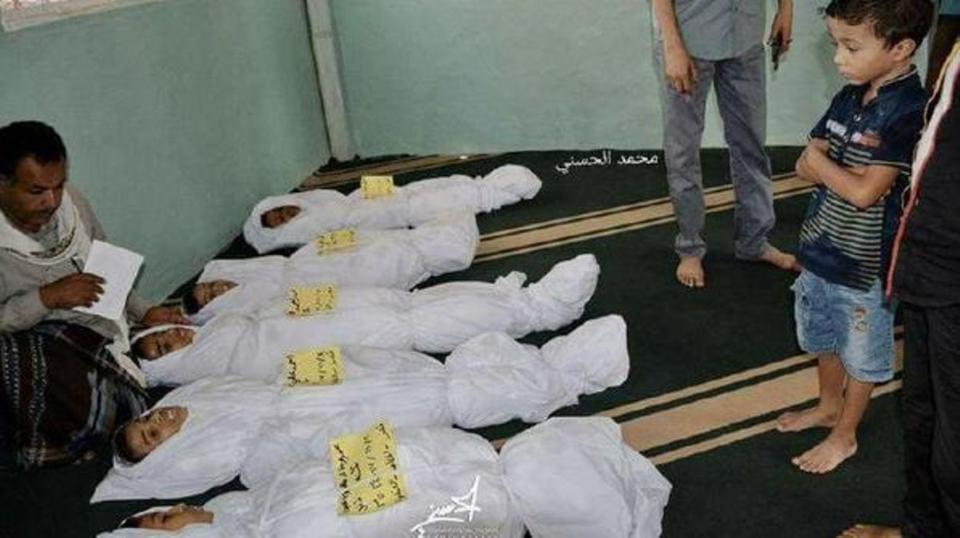 مقتل وجرح 15 مدنياً في هجوم صاروخي للحوثيين
