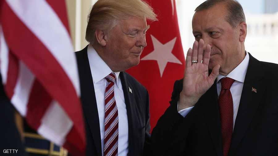 أردوغان لترامب: تركيا مستعدة لتولي الأمن في منبج السورية
