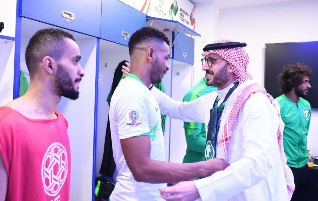 """رئيس الاتحاد السعودي: الروح العالية قادت """"الأخضر"""" للدور الثاني"""
